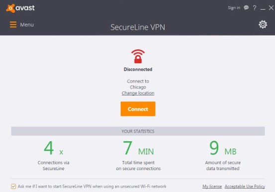 Avast Secureline Vpn latest version