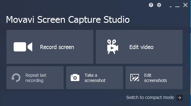 Movavi Screen Capture Studio windows