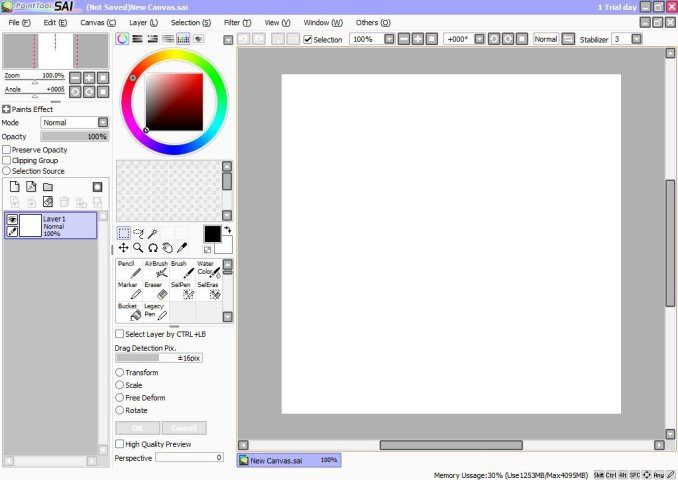 Paint Tool SAI windows
