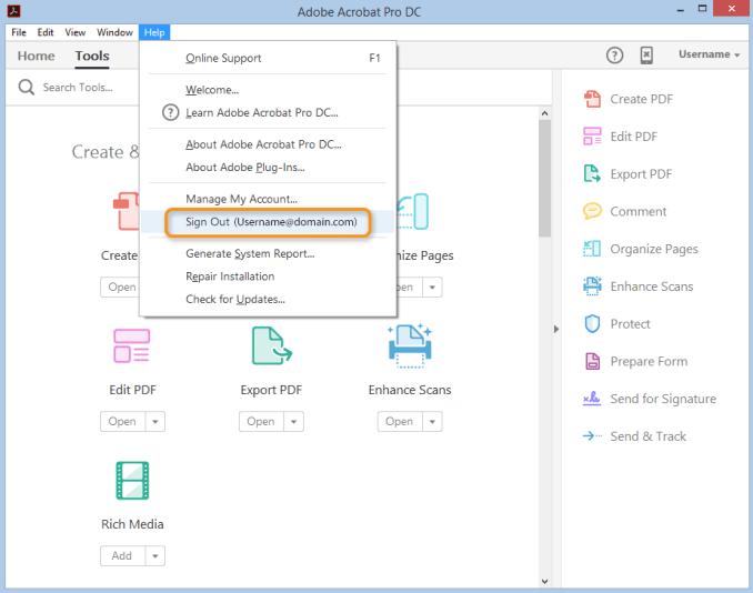 Adobe Acrobat Pro DC latest version