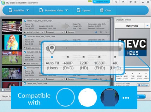 HD Video Converter Factory Pro windows