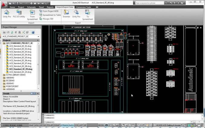 Autodesk AutoCAD windows