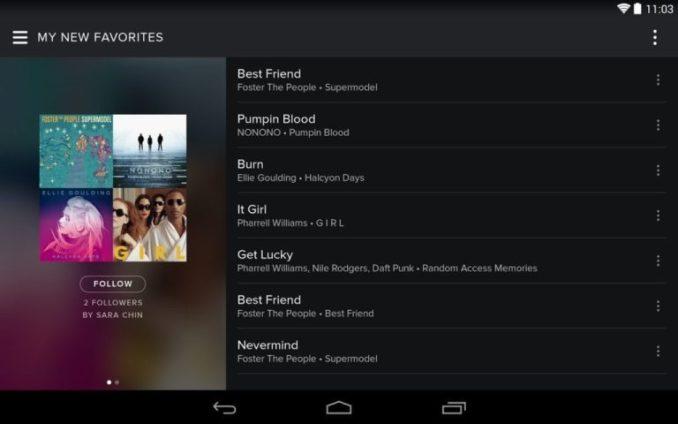 Spotify Music windows
