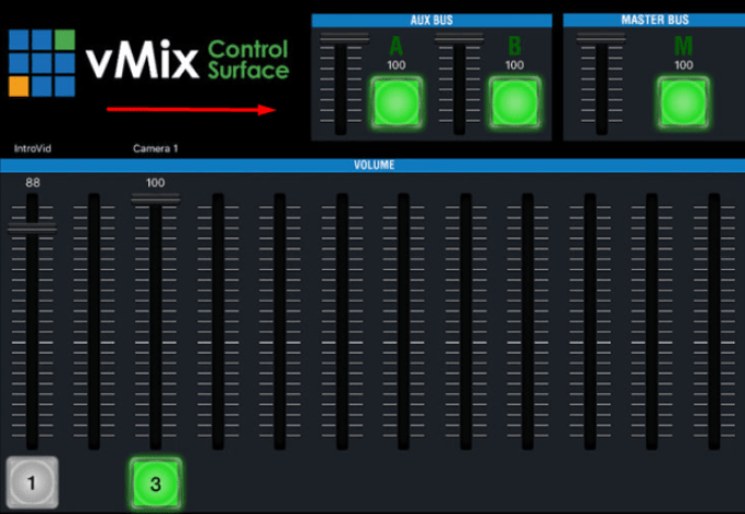 vMix windows
