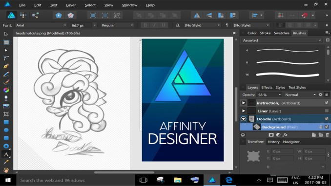Serif Affinity Designer latest version