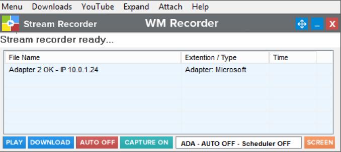 WM Recorder windows