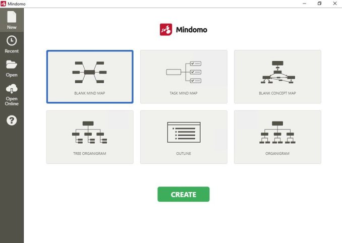 Mindomo Desktop windows