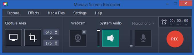 Movavi Screen Recorder latest version