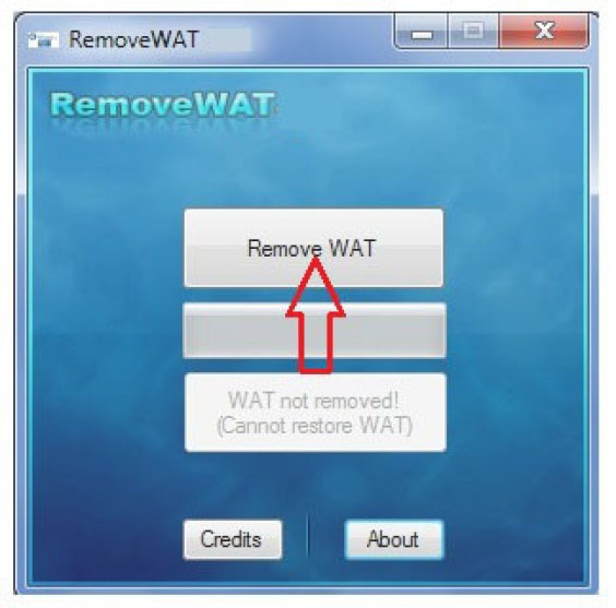 Removewat windows