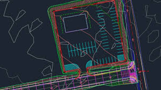AutoCAD Civil 3D windows