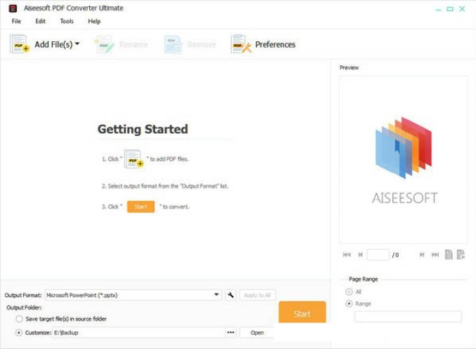 Aiseesoft PDF Converter Ultimate windows