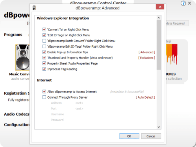 dBpoweramp Music Converter latest version