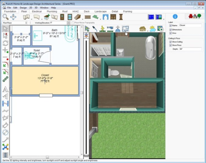 Architect 3D Ultimate Plus windows
