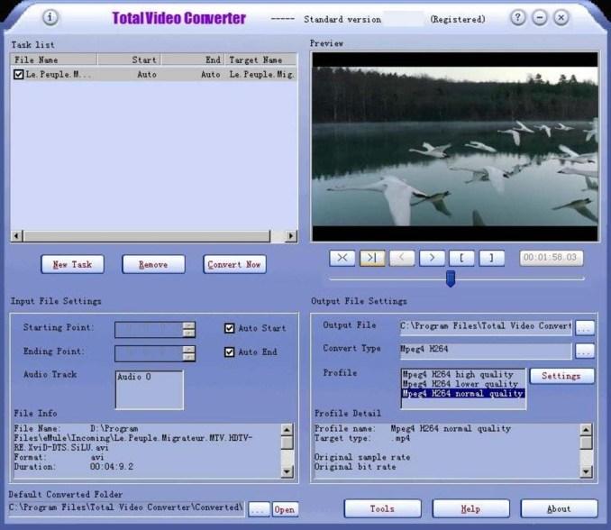 Total Video Converter latest version