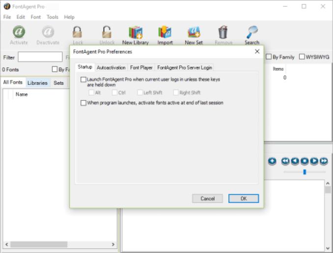 FontAgent Pro windows