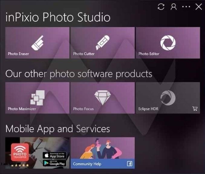InPixio Photo Studio Ultimate windows