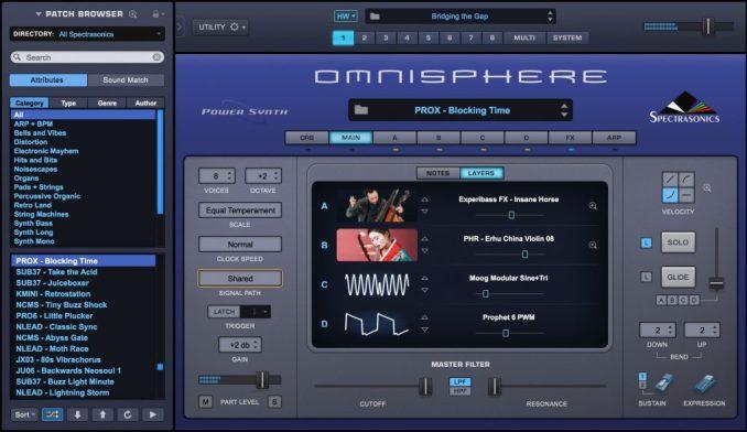 Omnisphere windows