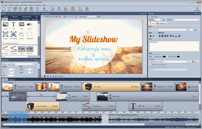 AquaSoft SlideShow Premium latest version
