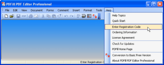 PDFill PDF Editor Pro windows