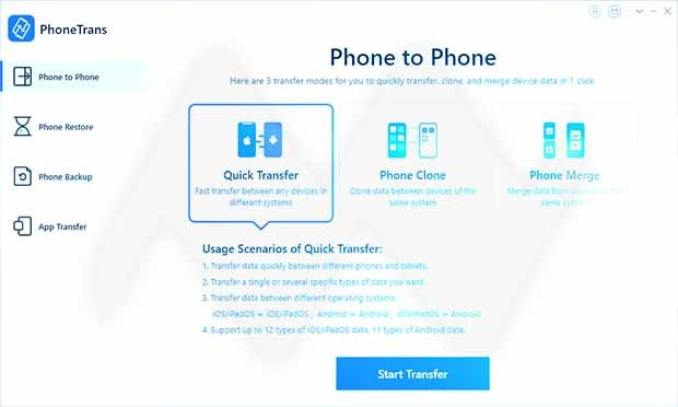 PhoneTrans latest version