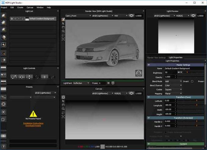 HDR Light Studio latest version