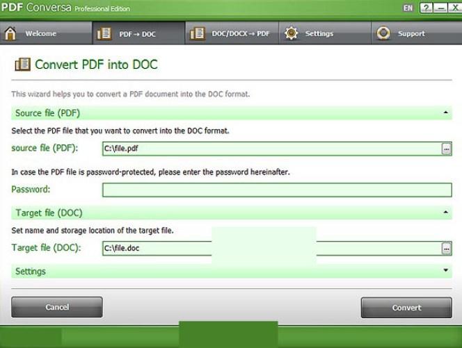 PDF Conversa Professional latest version
