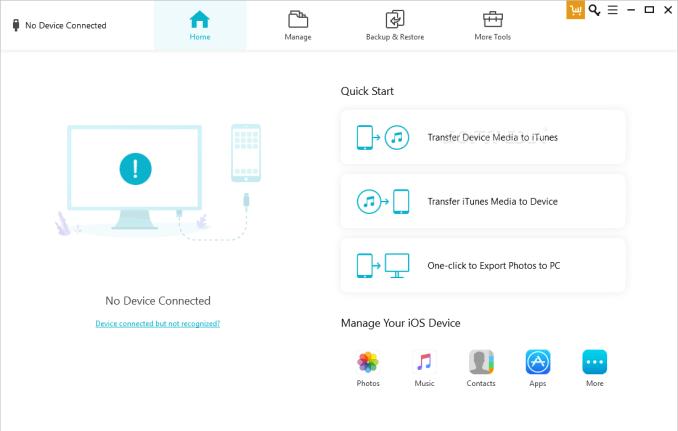 Tenorshare iCareFone latest version