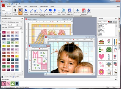 PCStitch: Premier Cross Stitch Software