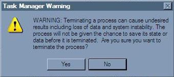 Kill Running Process on Computer
