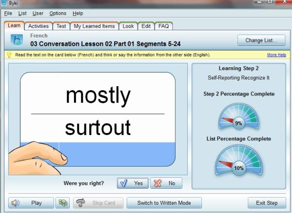 Transparent Language Review