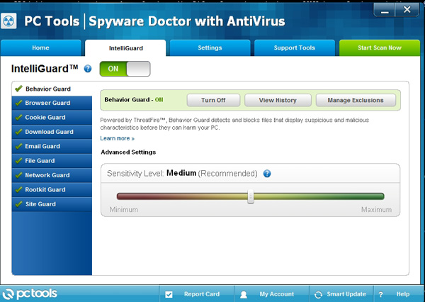 Spyware Doctor with Antivirus Intelliguard Protection
