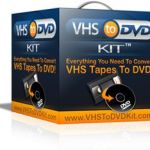 One-Click Operation of VHS Video to DVD Transfer Using ADVC-55