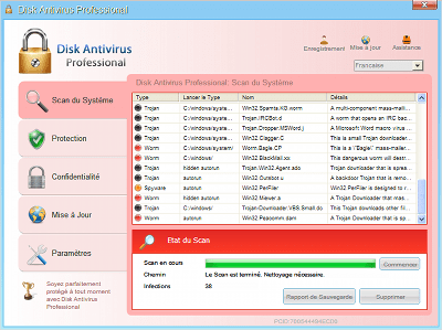 How To Remove Disk Antivirus Professional