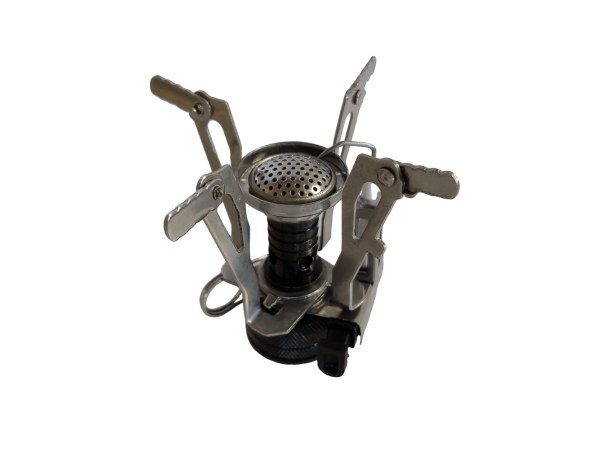 backpacking stove open