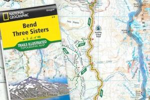 Nat'l Geographic Oregon Maps