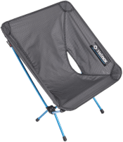 Helinox' Chair Zero provides an ultralight place to sit on trail and in camp.