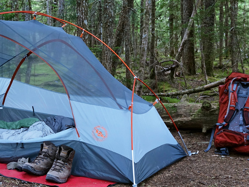Camping on the Pacific Crest Trail - PCT: Oregon