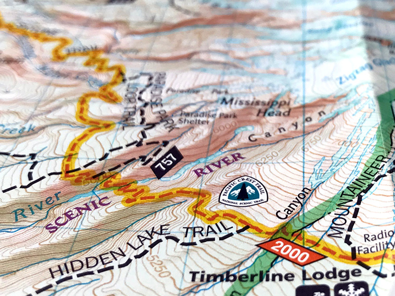PCT Trail Maps - PCT: Oregon
