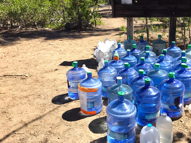 water cache
