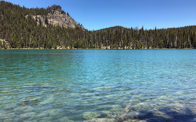rosary lakes willamette pass oregon