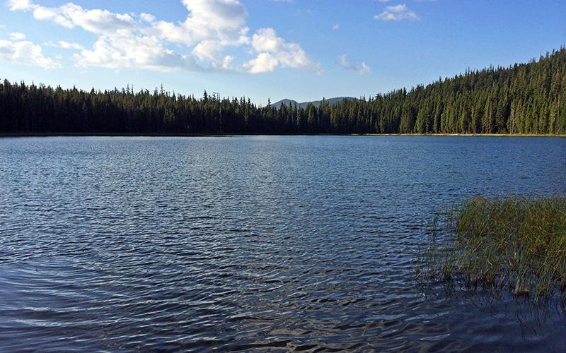maidu lake mount thielsen wilderness oregon
