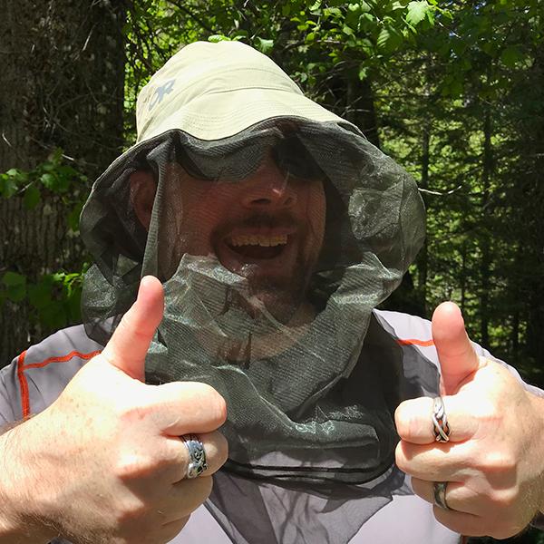 outdoor research bug bucket mosquito net hat