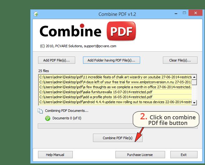 Combine PDF Software — Merge Multiple Adobe PDF Files Windows