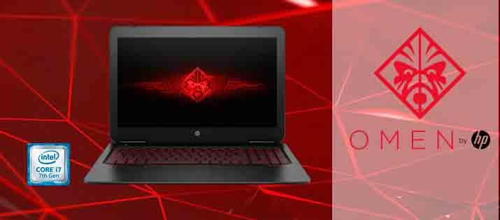 Portatil Gaming HP Omen intel i7