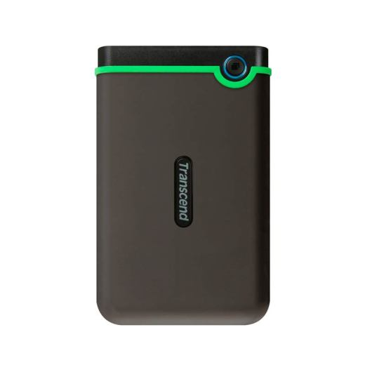 "Disco Externo 1TB Transcend M3S VERDE LIMON   Unidad de Almacenamiento USB 3.1 Slim StoreJet 2.5"" M3S - TS1TSJ25M3S"