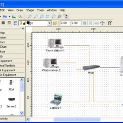 Visio Logical Network Diagram Data Flow Model Top 10 Topology Mapping Software Pc Cade