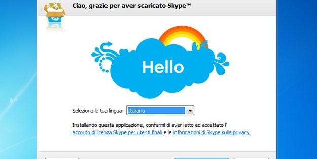 Registrare con Skype