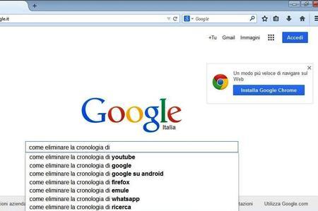 Come nascondere le ricerche da Google