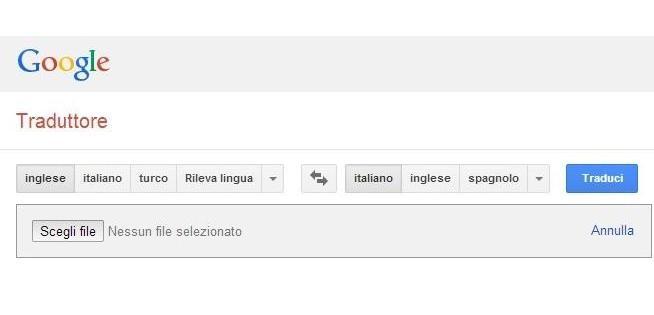 traduzione con word