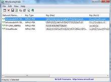 in questa immagine è presente la schermata di un programma che permette di rubare la password wifi